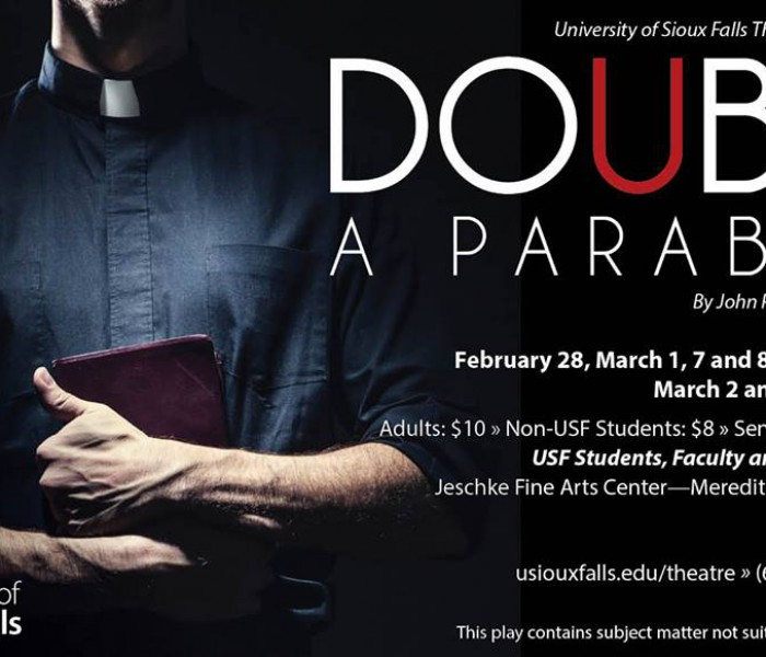 """Doubt"" Opens This Weekend in USF Theatre Department"