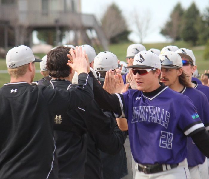 Baseball Breaks Even in Conference Play